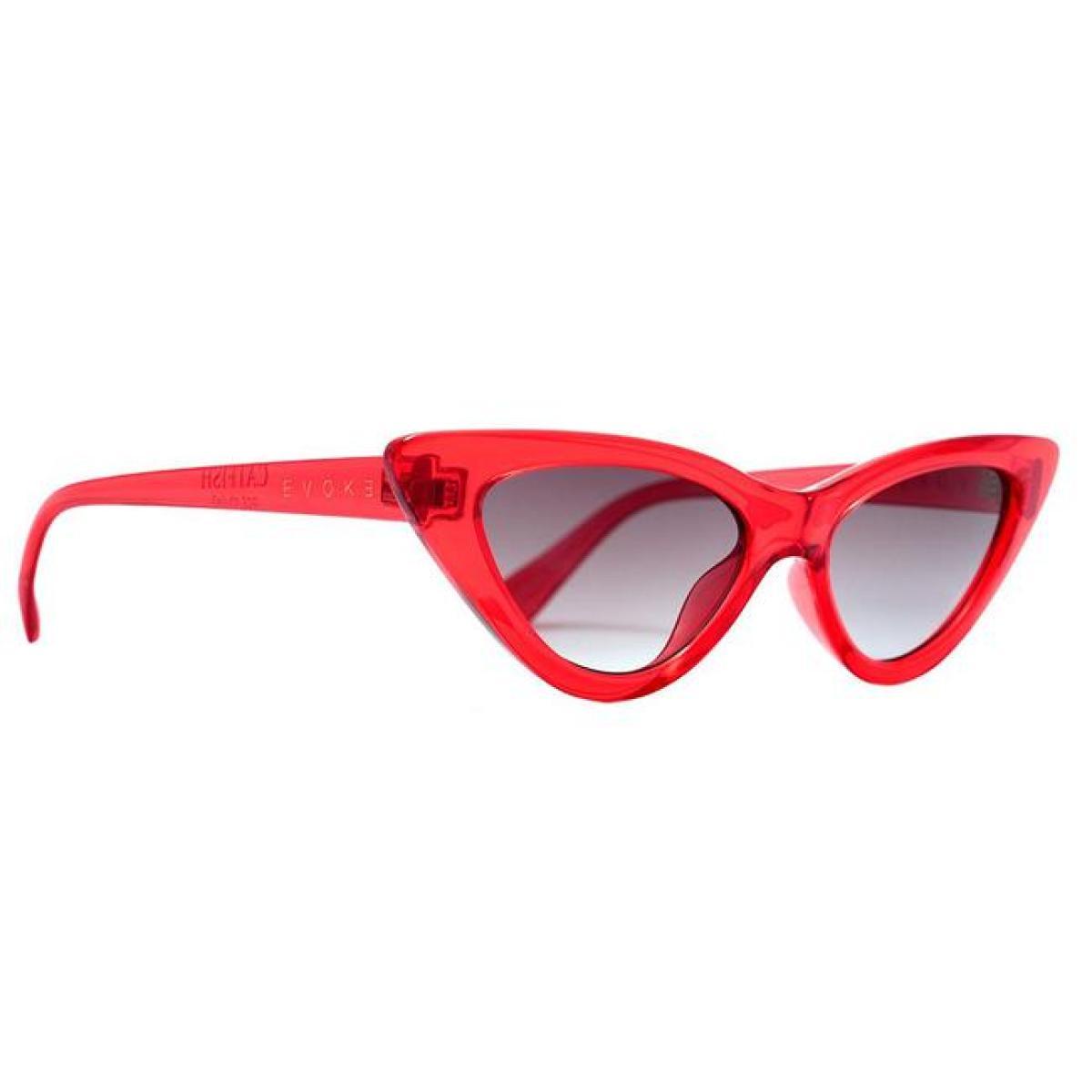 Óculos Evoke - Catfish Vermelho