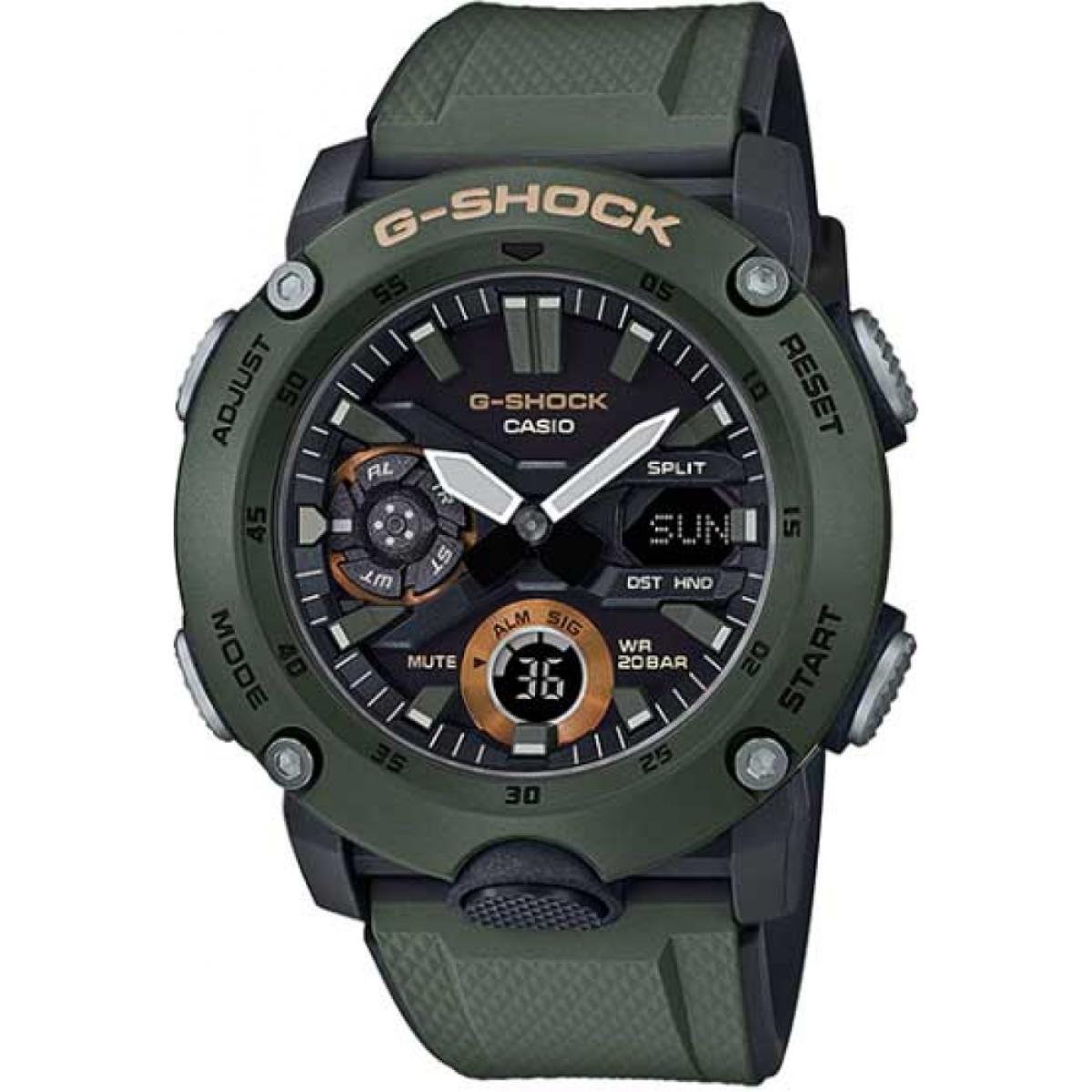 RELÓGIO G-SHOCK CARBON CORE GUARD - GA-2000-3ADR