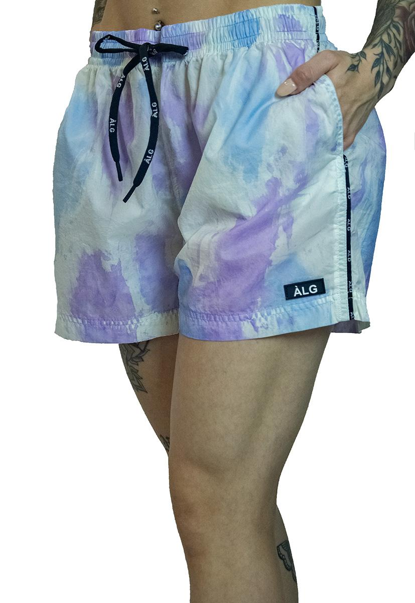 Short nylon summer - tiedye
