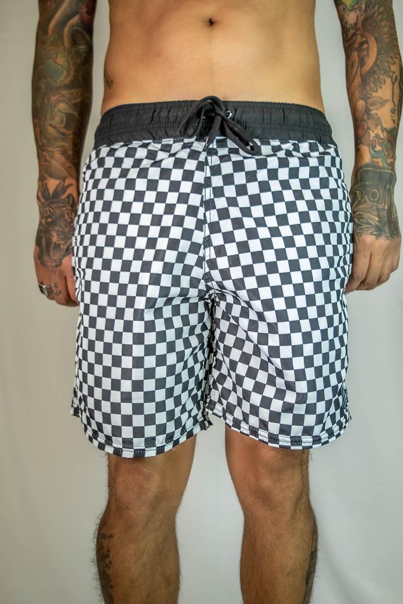 Shorts John Roger - Checkerboard
