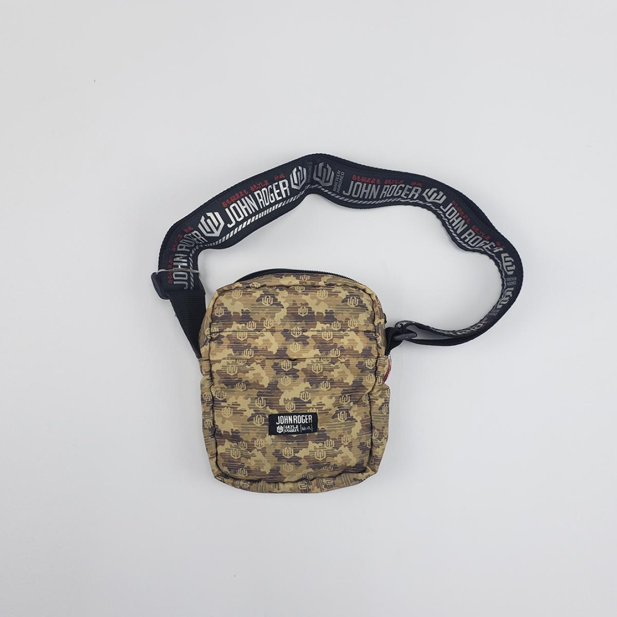 Shoulder bag - Camuflada Marrom