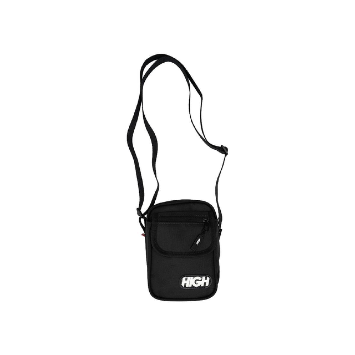 Shoulder bag logo black high