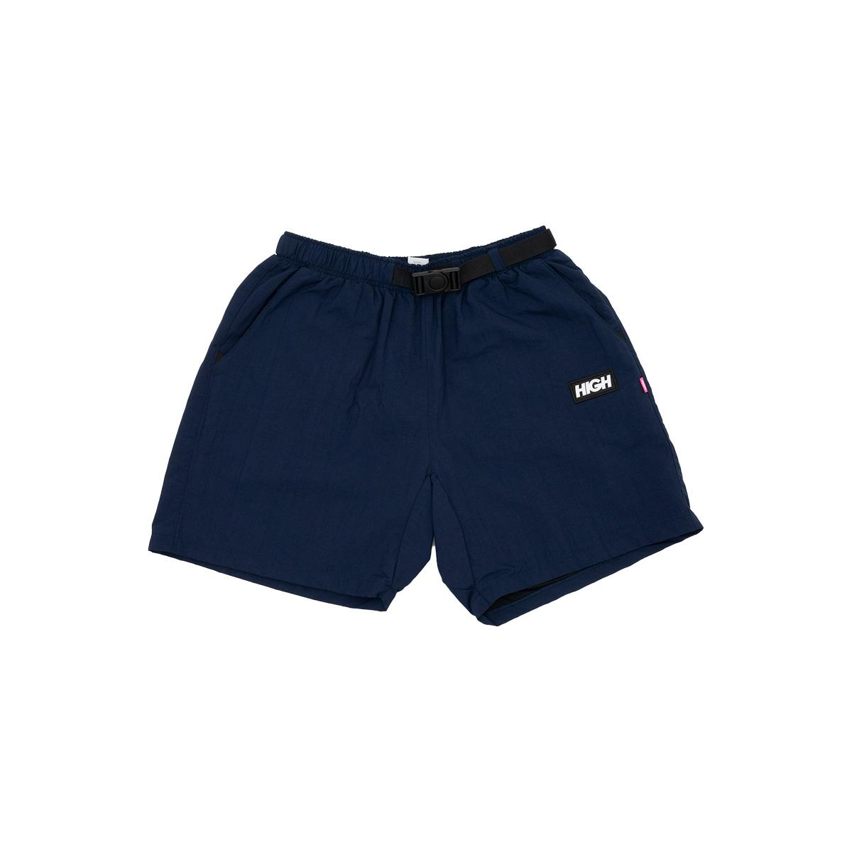 Strapped Shorts Navy High