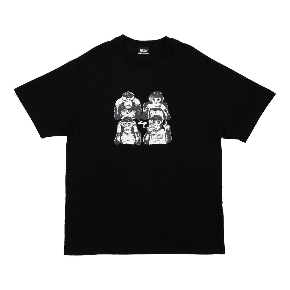 Tee Monkeys Black High
