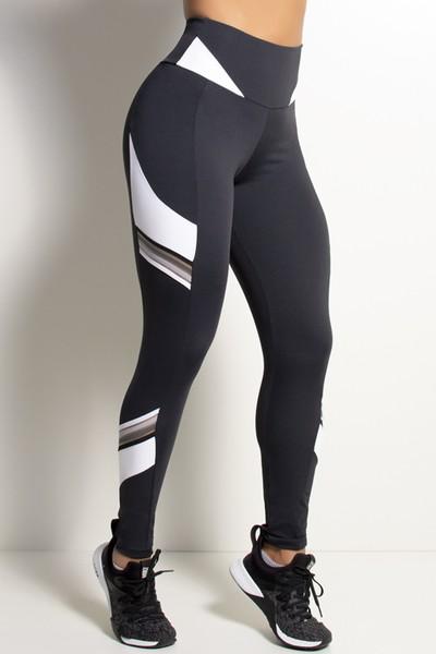 Legging Fitness Com Elástico Degrade