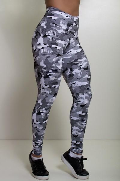 Legging Fitness Desenhos Jacquard