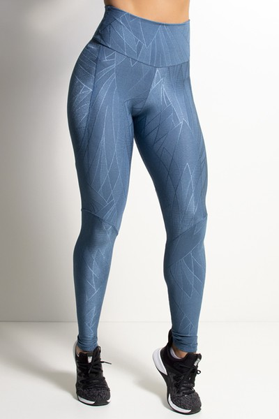 Legging Fitness Recorte V Costas