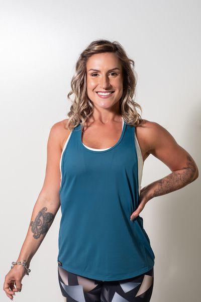 Regata Fitness Feminina para Academia Dry Longa