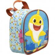 Lancheira Baby Shark Plush - 9044 - Artigo Escolar