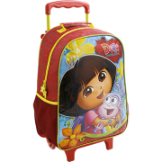 Mala com Rodas 16 Dora The Garden Of Dora - 8020 - Artigo Escolar