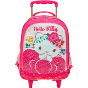 Mala com Rodas 16 Hello Kitty Magic Touch - 8790 - Artigo Escolar