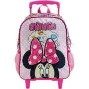 Mala com Rodas 16 Minnie Magic Bow 8930 - Artigo Escolar