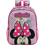 Mochila 14 Minnie Magic Bow 8933 - Artigo Escolar