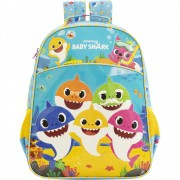 Mochila 16 Baby Shark Family - 9032 - Artigo Escolar