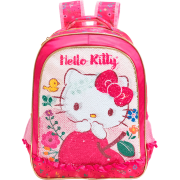Mochila 16 Hello Kitty Magic Touch - 8792- Artigo Escolar