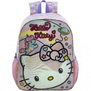 Mochila 16 Hello Kitty Rainbow - 8812 - Artigo Escolar