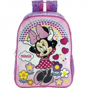 Mochila 16 Minnie Daydreaming 8942 - Artigo Escolar