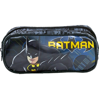 Estojo Duplo Batman Dark Light - 7585 - Artigo Escolar