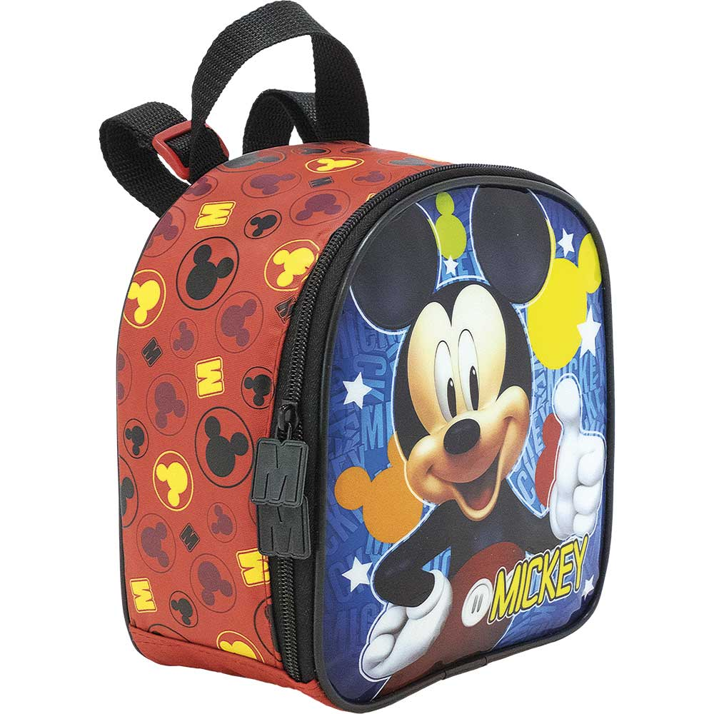 Lancheira Mickey Mouse - Hey Mickey! 8964 - Artigo Escolar