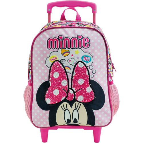 Mala com Rodas 14 Minnie Magic Bow 8931 - Artigo Escolar