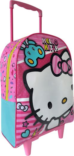 Mala com Rodas 16 Hello Kitty X1 - 9550 - Artigo Escolar
