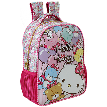 Mochila 16 Hello Kitty Tiny Bears - 7862 - Artigo Escolar