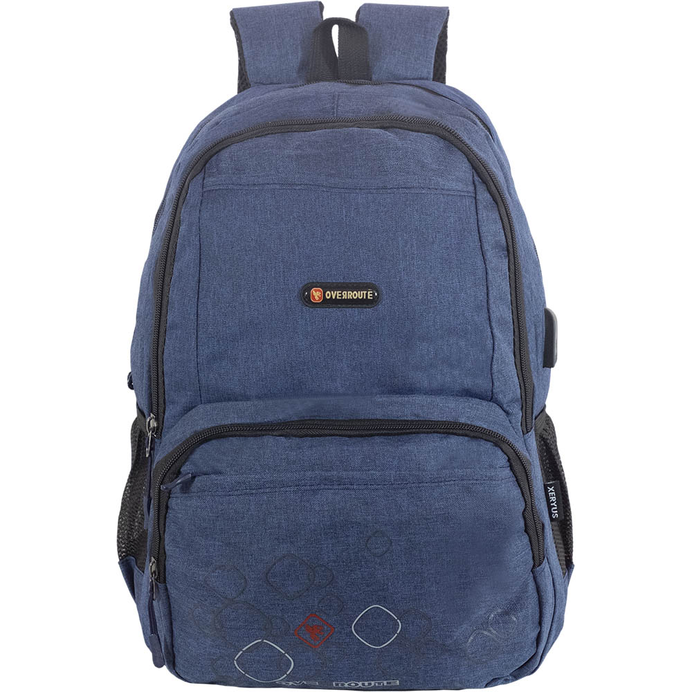 Mochila Lap Top Over Route - azul - 77189.6