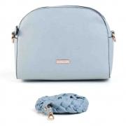 Bolsa Mondaine Azul Claro Transversal 12013BMBLPC12