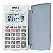 Calculadora de Bolso c/ tampa CASIO HL-820LV Branca 8 Dígitos