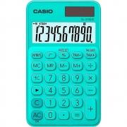 Calculadora De Bolso Casio SL-310UC-GN Azul Turquesa 10 dígitos