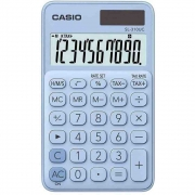 Calculadora De Bolso Casio Sl-310Uc-Lb-N-Dc Azul 10 digitos