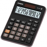 Calculadora de Mesa 12 Dígitos Preto MX-12B-S4-DC Casio