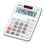 Calculadora De Mesa Casio Mx-12b-we-w-dc Bateria/solar Branca
