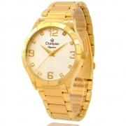 Kit Relógio Champion Feminino Dourado CN26055W