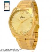 Kit Relógio Champion Feminino Dourado CN27607W
