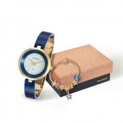 Kit Relógio Feminino com Pulseira Mondaine 76611LPMKDZ4