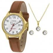 Kit Relógio Feminino Lince LRCH104L-KW55B2TX