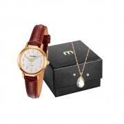 Kit Relógio Mondaine Feminino 83476LPMVDH2K1