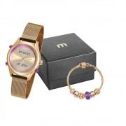 Kit Relógio Mondaine Feminino 99120LPMVDE6K1