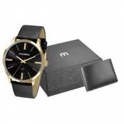 Kit Relógio Mondaine Masculino 53795GPMVDH3K1