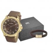 Kit Relógio Mondaine Masculino 99494GPMVDH1K3