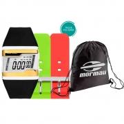 Kit Relógio Mormaii c/ Bolsa Gym Sack FZM/T8DKE