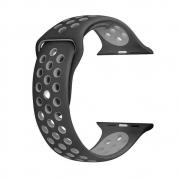Pulseira para Smartwatch Preta c/ cinza 42/44 MM - PULSWATCHPC