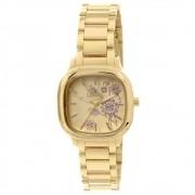 Relógio Allora Feminino Dourado Ref: Al2036ce/k4d