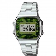 Relógio Casio Digital Feminino Vintage - A168WEC-3DF