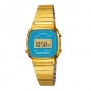 Relógio Casio Feminino Dourado Digital LA670WGA-2DF