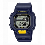 Relógio Casio Masculino Digital Azul W-737H-2AVDF