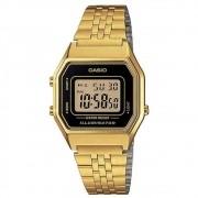 Relógio Casio Vintage Unissex Dourado LA680WGA-1DF