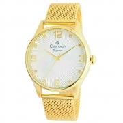 Relógio Champion Cn25716m Feminino Dourado