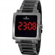 Relógio Champion Digital Preto Quadrado Unissex Ch40197d